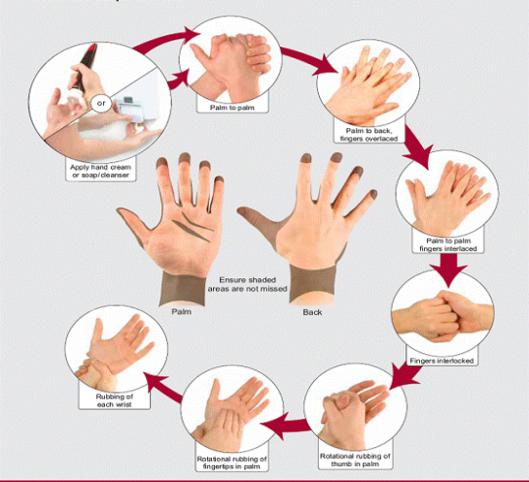 Наглядная инструкция по использованию крема
