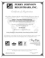 Сертификат ISO 9001:2015 2020 часть 1