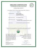 Сертификат USDA 2019